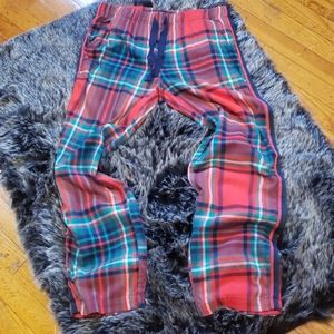 Aerie Red Flannel Sleep Lounge pants M